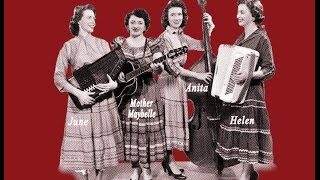 """DEBUT """"Roll Me Over The Tide"""" Carter Sisters ,Mother Maybelle featuring """"The Appalachian Angel"""""""