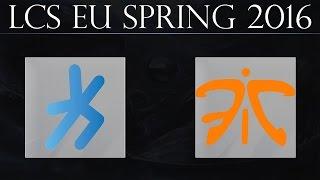 [LoL Highlights] H2k vs FNC G1 | H2k-Gaming vs Fnatic Game 1 (16.04.2016) | LCS EU Spring 2016