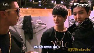 BANGTAN J-Hope, Jungkook & Jimin Imitating Rap Monster 'No More Dream' rapping part