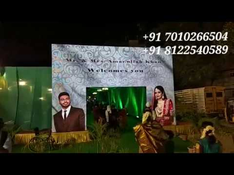 LED Digital Wedding Marriage Reception Event Decoration Chennai , Bangalore , Andhra , Neyveli India +91 8122540589