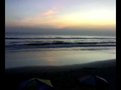 Evening at Cox's Bazar sea beach