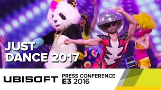 Just Dance 2017 E3 2016 Opening - Ubisoft Press Conference