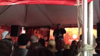 [SwitchBitch Noise EXCLUSIVE ] Front Porch Step opening remarks at Warped Tour 15 (part 1 of 4)