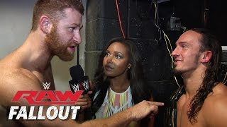 NXT Takes Over - Raw Fallout - Sept. 8, 2014