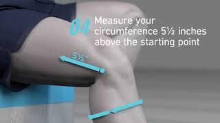 Bauerfeind Sports Knee Support - Sizing Guide