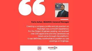 SEAMOG Testimonial on NrgEdge: Ahmad Fariz Azhar