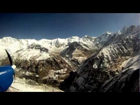 Flight to Annapurna.
