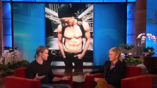Chord Overstreet on Cory Monteith on Ellen Show
