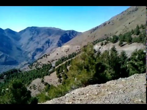 Atlas Mountains (Morocco) – View for Imlil