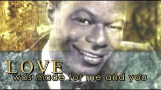 L-O-V-E  Nat King Cole (Lyrics)