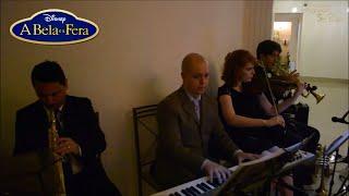 Tema da Disney A Bela e a Fera | Músicos de Cerimônia | Casamento no  Buffet Castelo Imperial