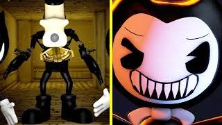 Bendy and the Ink Machine All Jumpscares Animations (Bendy & Boris Jumpscare)