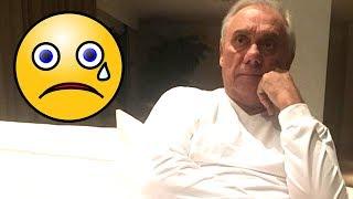 Triste: Marcelo Rezende se internou mais uma vez, sua declaração em vídeo emociona; veja!
