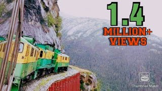TOP 10 MOST DANGEROUS TRAIN ROUTE IN THE WORLD.......