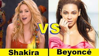 Shakira vs Beyonce || Beyoncé, Shakira - Beautiful Liar || Who is   the best
