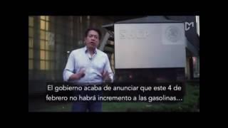 """Hacienda nos esta viendo la cara; """"La Gasolina debió bajar de Precio"""""""