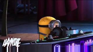 Despicable Me Agnes Vs Minions Dropping The Beat animals