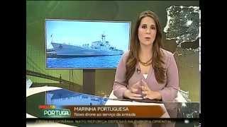Teste de Drone da Marinha Portuguesa