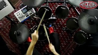 Fine by Me - Chris Brown drum cover on Alesis DM10 and Superior Drummer