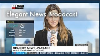 vMix Elegant News Broadcast (Package)
