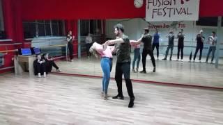 Bachata in pairs - Maria y Radek (Zara Larsson - Uncover Bachata remix)