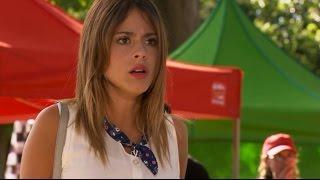 Violetta 2 - León se cae de la moto porque ve a Violetta con Diego (02x05-06)