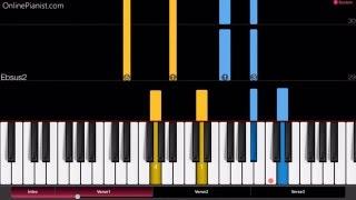Beyoncé | Sandcastles | Piano Tutorial - Easy Version