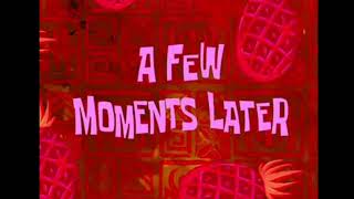 Spongebob Time Card Free a few moment later