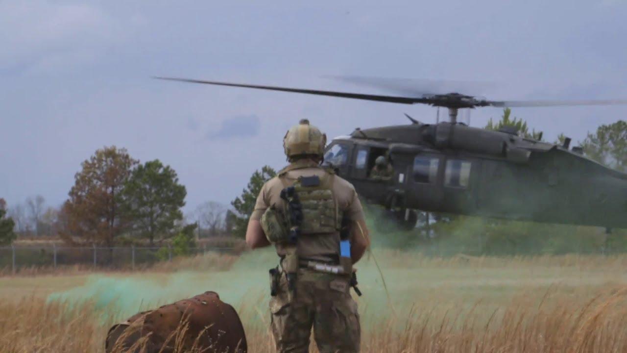 U.S Military • Pararescuemen & Combat Rescue • Squadron Exercise