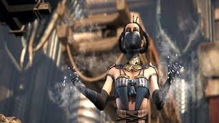 Mortal Kombat XL: Raiden and Kitana Swap Fatalities,Intros and Outros