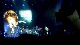 Bon Jovi en Chile 2010. In these arms part 1