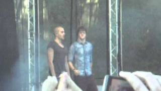 The Wanted - Glad You Came - 2011 Live