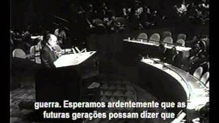 Discurso dos três Ds - Araujo Castro