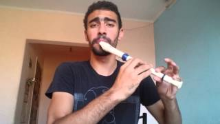 """My War (Official Music Video) """"Freestyle"""" - Recorder Beatbox - Medhat Mamdouh"""