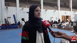 Sargodha: Taekwondo contests of under 16 younger girls | 21 Oct 2018 | 92NewsHD