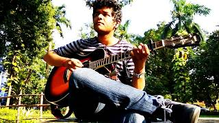 Numb - Linkin Park (Percussive fingerstyle guitar cover by Arnav Mandal)