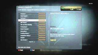 Call of Duty: Black Ops Launch Night [HD] - Playercards! (After 80 minutes of play)