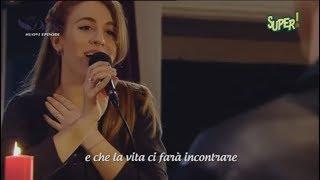"Love Divina - Divina canta ""Desperté"" al piano con Felipe (ITA)"