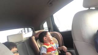 little hamza crying for music must watch .