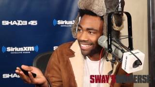 Childish Gambino   Pound Cake cover on Sway in the Morning - freestyle