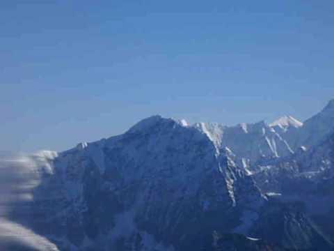 Martin in Nepal – auf dem Everest-Rundflug 2