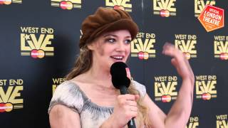 Carrie Hope Fletcher chats to Official London Theatre at West End LIVE