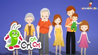 Familia mea - Cantece pentru copii - CriCriCri