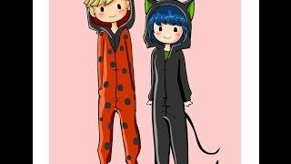 """Pajama Day"" Miraculous Ladybug Comic Dub"