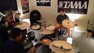 Pompeii - Bastille Duel Drum Cover (feat. Juan Mestre)
