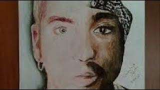 2Pac Ft. Eminem - Four Walls (2017)