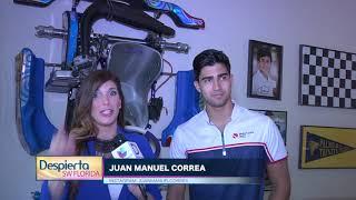 Juan Manuel Correa representa a los Hispanos en la formula #2