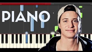 Kygo First Time Ellie Goulding Piano Midi tutorial Sheet app Cover Karaoke