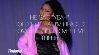 Nicki Minaj - Down In The DM [remix] (Verse - Lyrics Video)