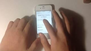 الطريقة الوحيدة لفتح جهازك الايفون بدون كتابة ال Apple ID